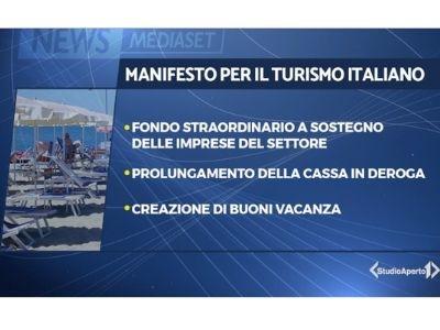 VIDEO NEWS - STUDIO APERTO - MANIFESTO PER IL TURISMO ITALIANO, LE RICHIESTE DEL COMPARTO