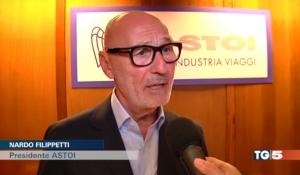TG5 / 13:00: intervista al Presidente ASTOI Nardo Filippetti - 5.7.2017