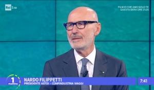 RAI1 - UnoMattina: intervista al Presidente ASTOI Nardo Filippetti - 6.12.2017