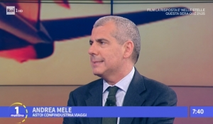 RAI1 - UnoMattina: intervista ad Andrea Mele, Consigliere ASTOI