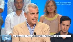 RAI1 -  La Vita in Diretta: intervista ad Andrea Mele, Vice Presidente ASTOI