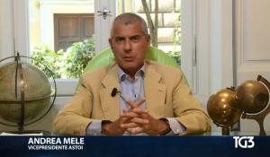 TG3 - intervista ad Andrea Mele, Vice Presidente ASTOI