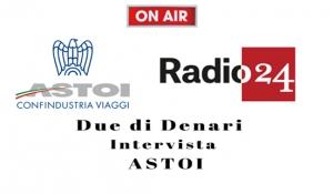 """Radio 24 : """"Due di denari"""" intervista il Consulente Legale ASTOI su Copertura per fallimento e Insolvenza"""