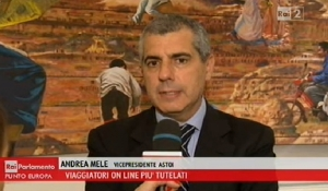 RAI Parlamento / Punto Europa - Intervista ad Andrea Mele - 31/10/2015