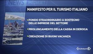Studio Aperto -  Manifesto per il turismo italiano, le richieste del comparto