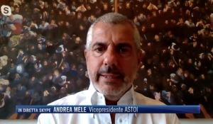 TG4 / 19:00 - Andrea Mele, Vicepresidente ASTOI: Urgenti misure efficaci a sostegno del Turismo organizzato