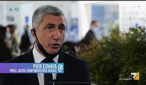 Like / LA 7 - L'Intervento del Presidente di ASTOI Confindustria Viaggi, Pier Ezhaya, da TTG Rimini
