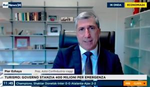 ECONOMIA 24 / RAINEWS – Il Presidente di ASTOI Confindustria Viaggi, Pier Ezhaya, intervistato su DL Ristori