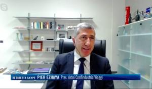 TG4/ 19:00 - Intervento del Presidente Pier Ezhaya