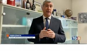 Canale 5 / TG5 h 8:00 – Pier Ezhaya, Presidente ASTOI, commenta le misure contenute nella nuova ordinanza del Ministero della salute.