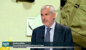 Rai 3 / Fuori TG - L'Intervento del Vicepresidente di ASTOI, Andrea Mele