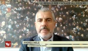 Rai 2 / Tg2 Italia – Le regole per le vacanze all'estero